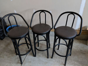 SELLING ALL 3 BAR STOOLS FOR $30.00