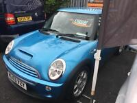 Mini Mini 1.6 ( Chili ) Cooper S MOT Rac Check Blue