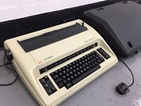 Olympia Typewriter With Case