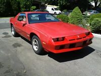 Chevrolet Camaro Berlinetta 1983