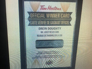 how to get a free tim hortons card