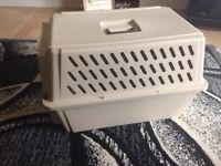 Pet kennel used as cat carrier dropped in price