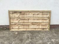 🔨🌟Top Quality Waneylap Tanalised Garden Fence Panels