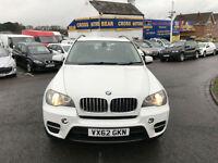 BMW X5 XDRIVE40D AC AUTO WHITE