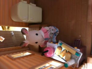 Calico  critter toys and houses for sale in excellent condition