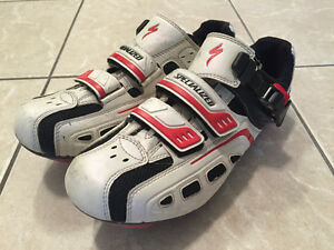 Specialized, Shimano and Time Bike Shoes
