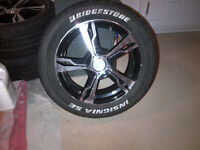 Bridgestone Insigna SE Tires and Rims
