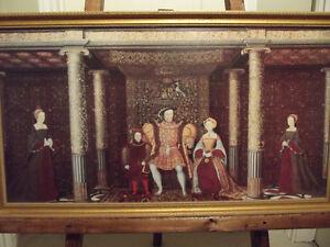 KING HENRY THE VIII FAMILY PORTRAIT PRINT Oakville / Halton Region Toronto (GTA) image 1