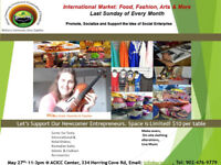 International Market: Food. Fashion & Arts