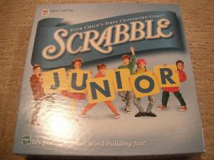 Scrabble Junior Game Ages 5 & Up