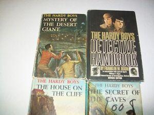 4 Hardy Boys Chapter Books