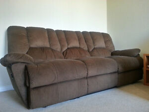 Power Recliner Sofa and Love Seat