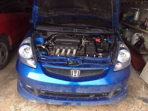 2007 Honda Fit Sport for parts only