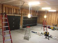 Garage door opener installation-best service from $110