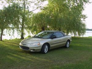 2001 Chrysler Sebring Cabriolet