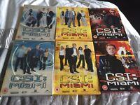 DVDs CSI Miami seasons 1-3