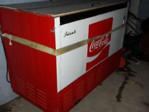 Coca Cola pop cooler / Coke Pop Bottle fridge cooler