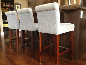 4 x Urban Barn Counter Height Dining Chairs