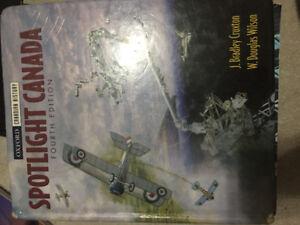 Spotlight Canada fourth edition textbook