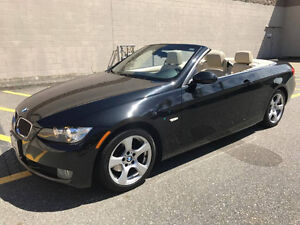 Black 2008 BMW 328i Convertible, 1st owner, LOW KM
