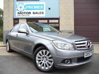 2007 (57) MERCEDES C220 CDI ELEGANCE AUTO, FULL HEATED LEATHER, PANORAMIC ROOF