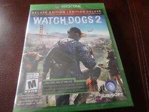 XBOX ONE Watchdogs 2 Deluxe Edition: REDUCED