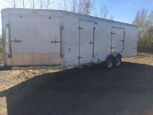 2008 heated haulmark sled trailer/car hauler
