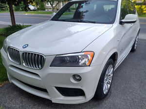 2014 BMW X3 M package VUS 35i