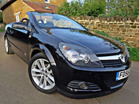 2007 VAUXHALL ASTRA 1.8i TWIN TOP SPORT CONVERTIBLE