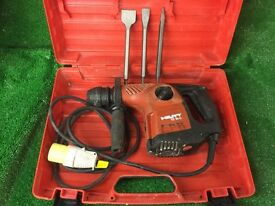 Hilti TE 16C AVR Combi Hammer Drill / Light Breaker 110v