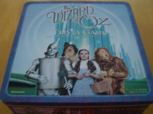 WIZARD OF OZ TRIVIA GAME IN COLLECTOR TIN Windsor Region Ontario image 1