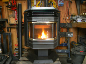 Wood stove ...Whitfield pellet stove.