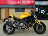 Ducati Monster 821 Yellow 2018 Model - ONLY 5000 MILES, FSH, RARE YELLOW!!