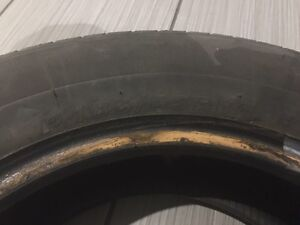 4 used summer tires 185/65/14   Very good condition  West Island Greater Montréal image 2