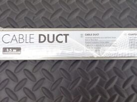 Cable Duct / Trunking 8 lengths. New.