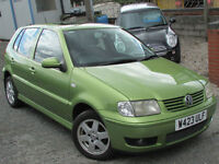 Volkswagen Polo 1.4 ( 60bhp ) auto 2000MY SE