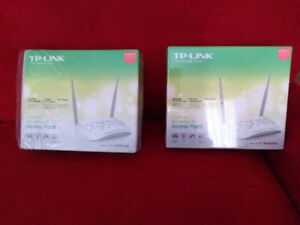 Access Point- network  Router.  Wireless only.  TP Link