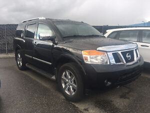 Nissan Armada Platinum Edition - Fully Loaded, Clean History!