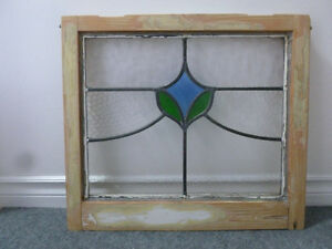 Vintage Stained Glass Window