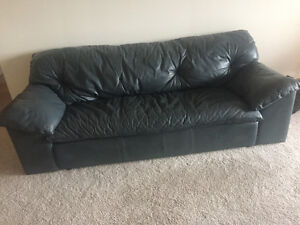 Real Italian Leather Couch
