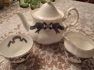 Royal Albert Tea Pot Cream and Sugar