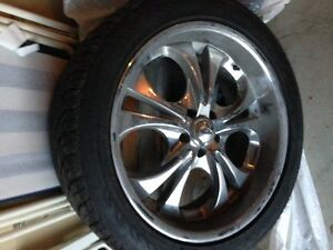 TIRES AND RIMS-QUICK SALE