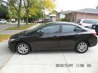2013 Honda Civic Sedan **ONLY 31,400 km**