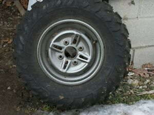1 New Dunlop Tire & Rim