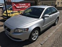 2007 VOLVO S40 S DIESEL, FULL SERVICE HISTORY, WARRANTY, NOT FOCUS ASTRA GOLF A3 308