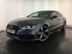 2013 63 AUDI A7 S LINE BLACK EDITION TDI AUTO 1 OWNER SERVICE HISTORY FINANCE PX