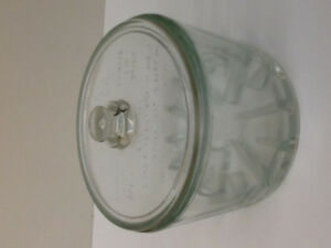 Sanitary Cheese Preserver 1930's-40's Glass Container