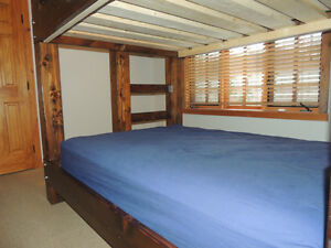 Hand crafted Timber bunk beds in Fanny bay Comox / Courtenay / Cumberland Comox Valley Area image 2