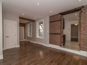 RARE! Absolutely Stunning and renovated Plateau apartment!!