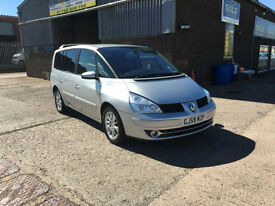 2009 59 RENAULT GRAND ESPACE 2.0 dCi 150 DYNAMIQUE 7 SEATER,TURBO DIESEL